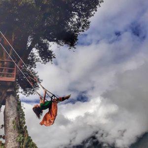 Baños, Tungurahua, Ecuador  COLUMPIO AL FIN DEL MUNDO - BAÑOS DE AGUA SANTA - PROVINCIA DE TUNGURAHUA #Baños #P