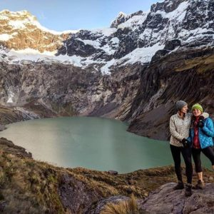 Volcán Altar: our little Patagonia. And what felt like a personal Everest with th...